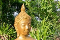 Boedha in Boeddhisme in één tempel royalty-vrije stock afbeeldingen