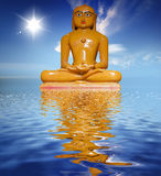 Boedha - boeddhisme conept - god Stock Foto's