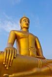 Boedha in de tempel. van, Bangkok Royalty-vrije Stock Afbeeldingen
