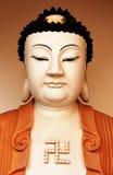 Boedha in de Tempel van Si van Kek Lok in Pinang Stock Fotografie