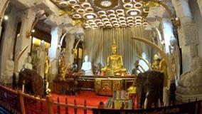 Boedha in de Tempel van de Tand van Boedha