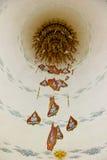 Boedha in bladeren Bodhi Stock Afbeeldingen