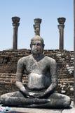 Boedha in Medirigiriya Royalty-vrije Stock Afbeeldingen