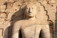 Boedha in meditatie Sri Lanka Stock Foto