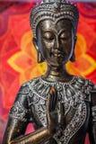 Boedha met mandala Stock Foto's