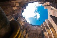 Boedha oude Sukhothai Stock Fotografie