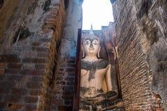 Boedha oude Sukhothai Royalty-vrije Stock Foto