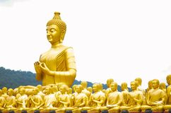 Boedha in Thailand Stock Afbeelding