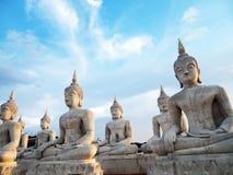 Boedha in Thailand (Nakhonsithammarat) Stock Foto's