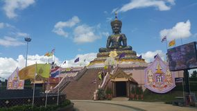 Boedha Thamaracha in petchabun Stock Foto's