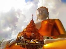 Boedha was de stichter van Boeddhisme stock afbeeldingen