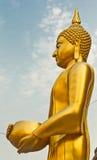 Boedha in Wat Arun doorweekt omhoog de kom Royalty-vrije Stock Afbeeldingen