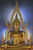 Boedha in Wat Benjamabophit Stock Afbeelding