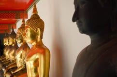 Boedha in Wat Pho Royalty-vrije Stock Foto