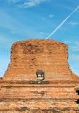 Boedha zonder hoofd in Ayutthaya Stock Fotografie