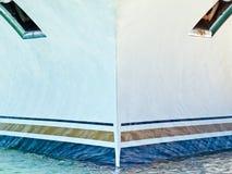 Boeg van cruiseschip Royalty-vrije Stock Afbeeldingen