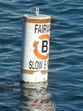 Boei in het Water Stock Foto