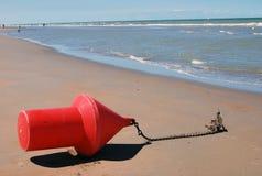Boei op het strand Stock Photo