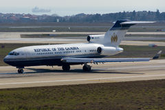 Boeing 727 αεροπλάνο Στοκ Φωτογραφίες