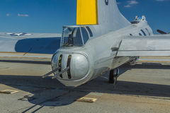 Boeing β-17 πυργίσκος οπλιτών ουρών Στοκ εικόνες με δικαίωμα ελεύθερης χρήσης