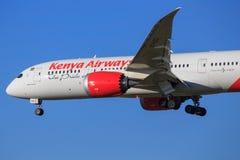 Boeing 787 Fotografering för Bildbyråer