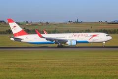767 boeing Royaltyfria Foton