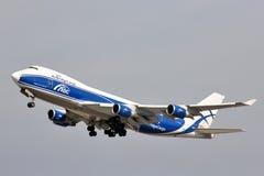 Boeing 747 Imagens de Stock Royalty Free