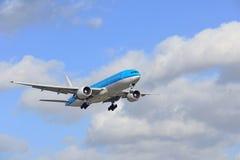 Boeing 777 - 206 Imagem de Stock Royalty Free