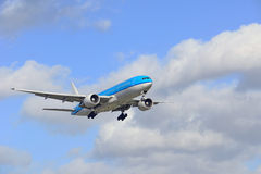 boeing 777 - 206 Royaltyfri Bild