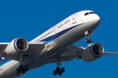 Boeing 787 Fotografia Stock Libera da Diritti