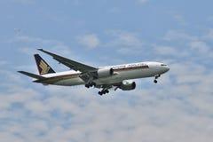 Boeing 777 Fotografía de archivo