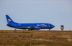 Boeing 737-400 Fotografering för Bildbyråer
