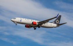 Boeing 737-883 Arkivbild