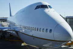 Boeing 747 Images libres de droits