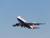 Boeing 747-436 Royaltyfri Foto