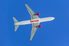 767 boeing Royaltyfri Bild