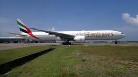 Boeing 777 Foto de archivo libre de regalías