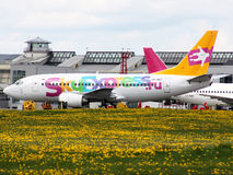 Boeing 737 Photo libre de droits