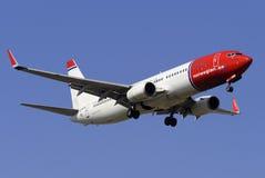 Boeing 737 lizenzfreies stockbild