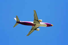 Boeing 737-400, nokair. Is low-cost airline beautiful aircraft paint Stock Photo