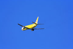 Boeing 737-400, nokair. Is low-cost airline beautiful aircraft paint Stock Photos