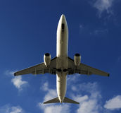 BOEING 737-800 airplane Royalty Free Stock Photo