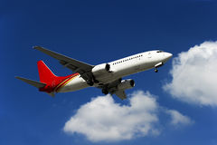 BOEING 737-800 airplane Stock Images