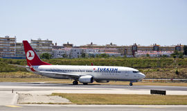 Boeing 737 800 turkish Obrazy Royalty Free