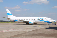 Boeing 737 - Enter Air Royalty Free Stock Photos