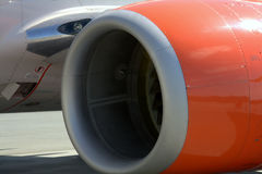 Boeing 737 Jet engine Royalty Free Stock Photos