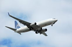 Boeing 737 passenger jet Royalty Free Stock Photography