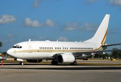 Boeing 737 passenger jet Stock Photos