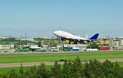 Boeing 744 Royalty Free Stock Photography