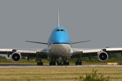 Boeing 747 stock photo